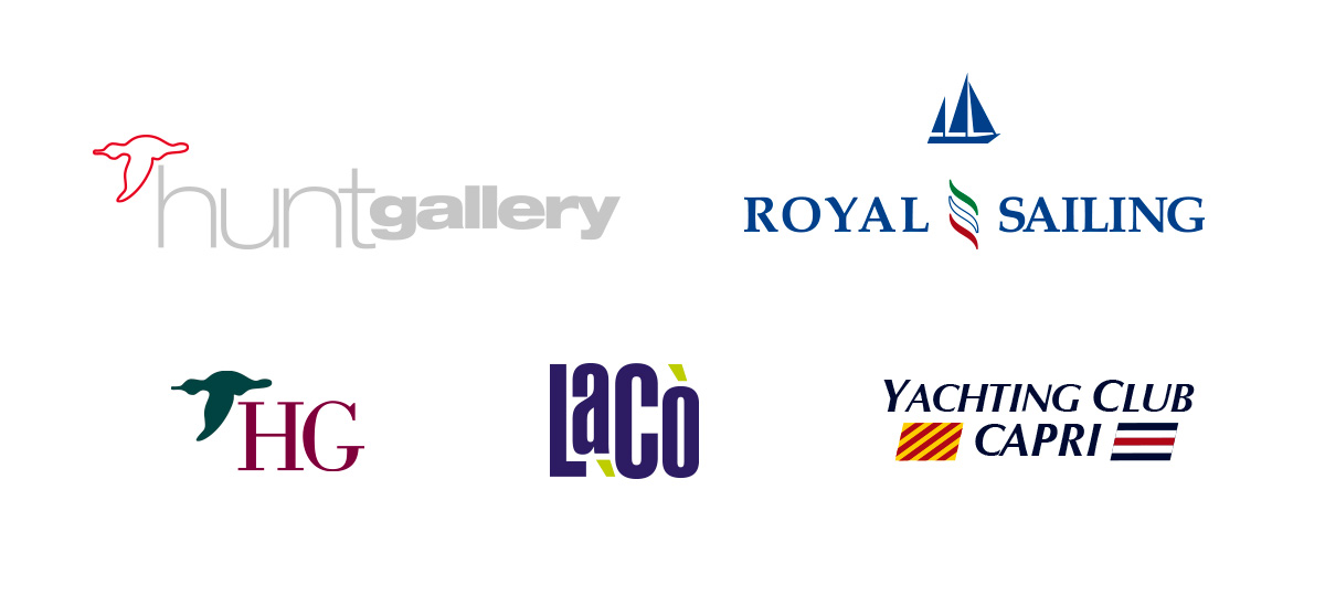 Hunt Gallery, Royal Sailing, HG Monogramma, Lacò, Yatching Club Capri